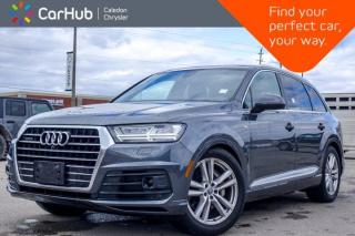 Used 2017 Audi Q7 3.0T Technik AWD 7 Seater Navigation Panoramic Sunroof 360 Backup Camera Leather heated Front Seats for sale in Bolton, ON