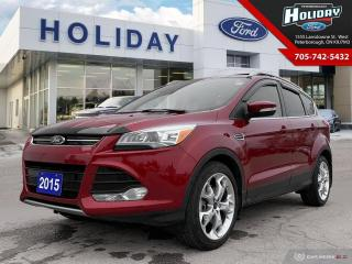 Used 2015 Ford Escape Titanium for sale in Peterborough, ON