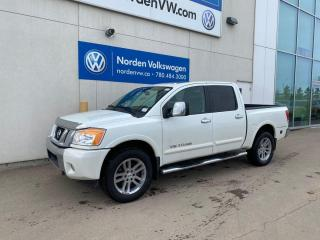 Used 2014 Nissan Titan SL 4X4 CREW CAB - LEATHER / LOADED for sale in Edmonton, AB
