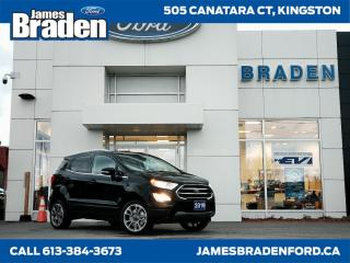 New 2019 Ford EcoSport Titanium for sale in Kingston, ON