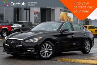 Used 2016 Infiniti Q50 2.0t|Bose_Audio|Nav|Sunroof|Keyless_Go|Backup_Cam|Bluetooth| for sale in Thornhill, ON