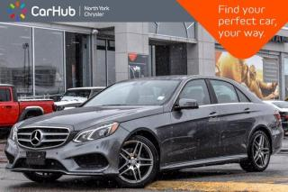 Used 2016 Mercedes-Benz E-Class E 400 AWD Navigation Panoramic Sunroof 360 Camera Bluetooth Heat/MemSeats for sale in Thornhill, ON