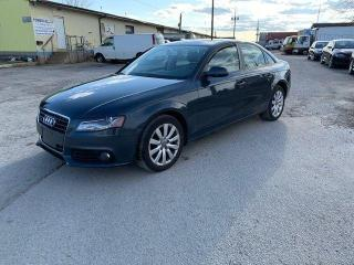 Used 2010 Audi A4 2.0T,Certified,Sporty Ride,Clean Int,Must see Car for sale in Ajax, ON