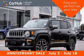 Used 2019 Jeep Renegade Limited Navigation Sunroof Backup Camera 4X4 Hitch Heat Seats Bluetooth for sale in Thornhill, ON