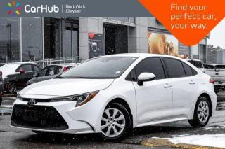Used 2020 Toyota Corolla LE|BackupCam|HeatSeats|Blindspot|AppleCarPlay|LaneKeep|TractionCtrl for sale in Thornhill, ON