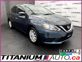 Used 2017 Nissan Sentra SV-Tech+GPS+Camera+Blind Spot+Sunroof+Heated Seats for sale in London, ON