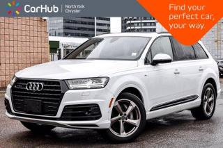 Used 2019 Audi Q7 Technik BOSE Sound Panoramic Sunroof Navigation Hitch Heat/Vent/Front Seats Bluetooth 360 Camera for sale in Thornhill, ON