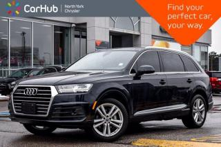 Used 2017 Audi Q7 3.0T Technik Panoramic Sunroof Navigation 360 Camera 7 passenger AWD Heat Seats/Steering for sale in Thornhill, ON