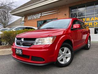 Used 2015 Dodge Journey SE Canada Value PKG 7 Passenger Rear Cam  Certi* for sale in Concord, ON