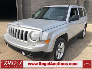 Used 2014 Jeep Patriot North 4D Utility 4WD for sale in Calgary, AB