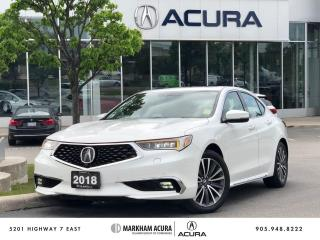 Used 2018 Acura TLX 3.5L SH-AWD w/Elite Pkg for sale in Markham, ON