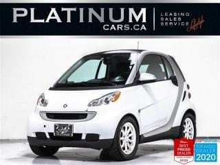 Used 2012 Smart fortwo AUTOMATIC,BLUETOOTH,ALLOY WHEELS,CLEAN CARFAX for sale in Toronto, ON