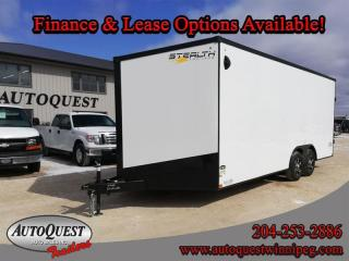 Used 2021 Stealth Cargo Trailer 8.5' x 20' V-Nose for sale in Winnipeg, MB