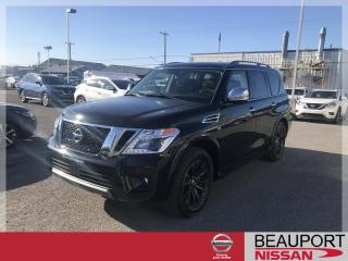 Used 2019 Nissan Armada Platine 4x4 for sale in Beauport, QC