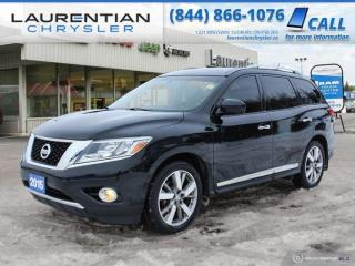 Used 2015 Nissan Pathfinder PLATINUM - LOADED! LEATHER ! HEAD REST LCD SCREENS! for sale in Sudbury, ON