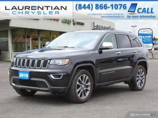 Used 2018 Jeep Grand Cherokee Limited - SUNROOF ! LEATHER ! V6 ! for sale in Sudbury, ON