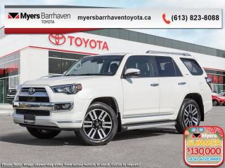 New 2020 Toyota 4Runner Limited  - Navigation -  Sunroof - $378 B/W for sale in Ottawa, ON
