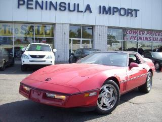 Used 1990 Chevrolet Corvette for sale in Oakville, ON
