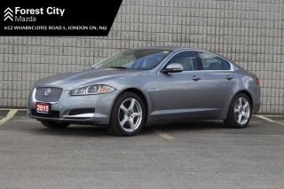 Used 2015 Jaguar XF 3.0L, AS-IS, LUXURY PKG, 2 SETS OF RIMS AND TIRES, NAV, SUNROOF FULL LOAD for sale in London, ON