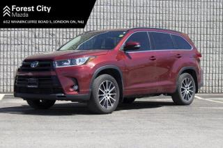 Used 2017 Toyota Highlander SE,LEATHER,NAVIGATION,POWER MOONROOF for sale in London, ON