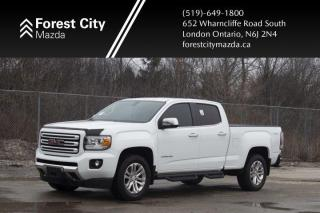 Used 2016 GMC Canyon 4WD SLT, LEATHER, NAVIGATION for sale in London, ON