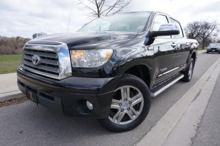 Used 2007 Toyota Tundra LIMITED CREWMAX / 1 OWNER / NO ACCIDENTS /LOW KM'S for sale in Etobicoke, ON
