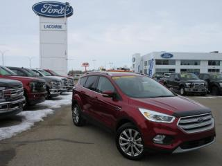 Used 2018 Ford Escape Titanium for sale in Lacombe, AB