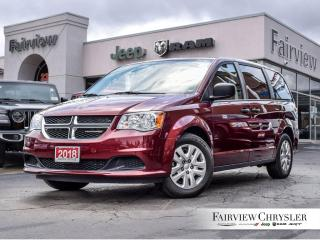 Used 2018 Dodge Grand Caravan CVP l 3RD ROW Stow N GO l for sale in Burlington, ON