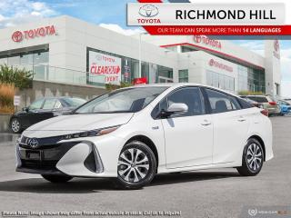 New 2020 Toyota Prius Prime Upgrade  - Navigation - $136.76 /Wk for sale in Richmond Hill, ON
