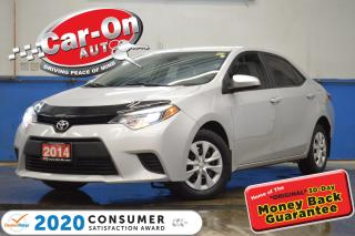 Used 2014 Toyota Corolla LE A/C BLUETOOTH CRUISE PWR GRP for sale in Ottawa, ON