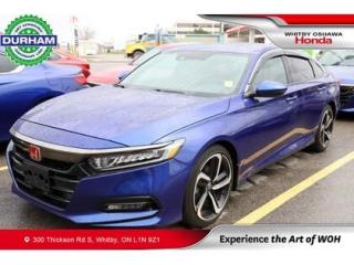 Used 2019 Honda Accord Sport 2.0 Auto for sale in Whitby, ON