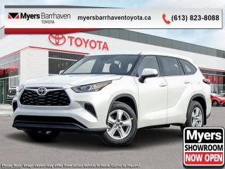 New 2020 Toyota Highlander LE  - $348 B/W for sale in Ottawa, ON