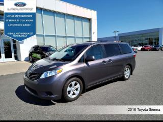 Used 2016 Toyota Sienna 5DR 7-PASS FWD for sale in Victoriaville, QC
