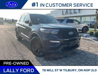 Used 2020 Ford Explorer ST, Loaded, One Owner, Mint!! for sale in Tilbury, ON