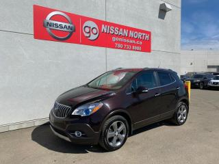 Used 2014 Buick Encore AWD / LEATHER/ SEOCND SET OF TIRES for sale in Edmonton, AB