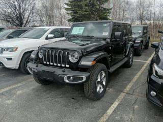 New 2020 Jeep Wrangler Unlimited Sahara for sale in Sudbury, ON