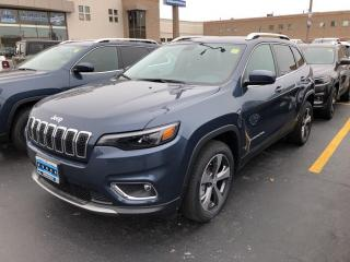 New 2020 Jeep Cherokee Limited for sale in Windsor, ON
