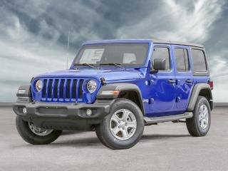 New 2020 Jeep Wrangler Unlimited Sport S for sale in Windsor, ON