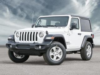 New 2020 Jeep Wrangler Sport S for sale in Windsor, ON