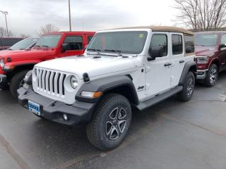 New 2020 Jeep Wrangler Unlimited Black and Tan Edition for sale in Windsor, ON