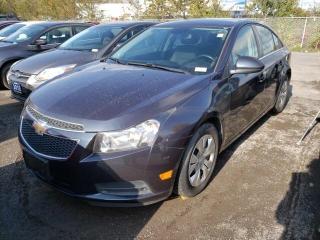 Used 2014 Chevrolet Cruze 1LT for sale in Trenton, ON