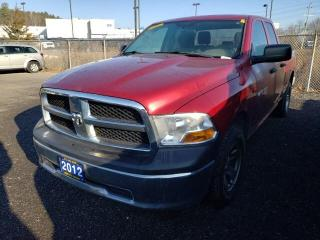 Used 2012 RAM 1500 ST 4x4 Quad Cab 140 in. WB for sale in Trenton, ON