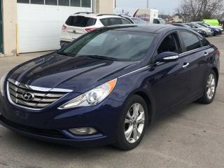Used 2013 Hyundai Sonata 4dr Sdn 2.4L Auto Limited W/Navi for sale in Caledon, ON