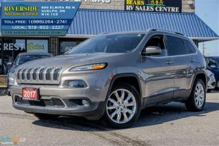 Used 2017 Jeep Cherokee Limited - Backup Cam - Heated Seats - Heated Steering for sale in Guelph, ON
