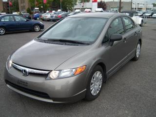 Used 2006 Honda Civic DX-VP for sale in Saint-jean-sur-richelieu, QC