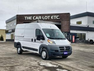 Used 2016 RAM 1500 ProMaster CARGO VAN CONVERSION KITS AVAILABLE,3.6L V6, FINANCING AVAILABLE FOR SELF EMPLOYED for sale in Sudbury, ON