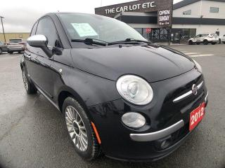 Used 2012 Fiat 500 Lounge for sale in Sudbury, ON