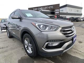 Used 2018 Hyundai Santa Fe Sport Luxury AWD PREVIOUS DAILY RENTAL for sale in Sudbury, ON