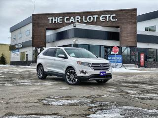 Used 2016 Ford Edge Titanium AWD! HEATED/COOLED LEATHER! BACK-UP CAMERA!  PANORAMIC ROOF!  BLUETOOTH! NAVIGATION!! for sale in Sudbury, ON
