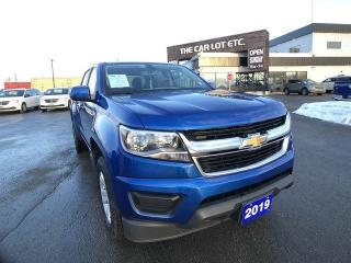 Used 2019 Chevrolet Colorado 4x4 LT PREVIOUS DAILY RENTAL for sale in Sudbury, ON